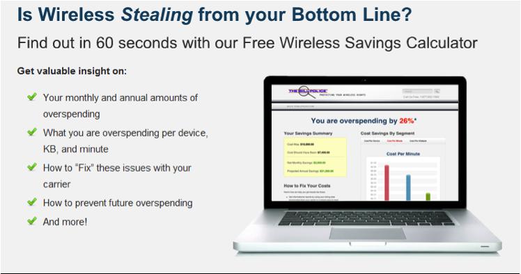 The Bill Police Announce New Wireless Savings Calculator