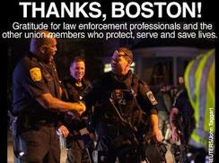 Thanks Boston Police APR13