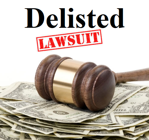 "Check Your Expense Manager! Can you say ""Nasdaq Delist and Class Action Lawsuit""?"
