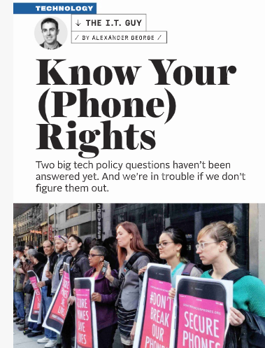 Protecting your Wireless Rights – Popular Mechanics and Bill Police